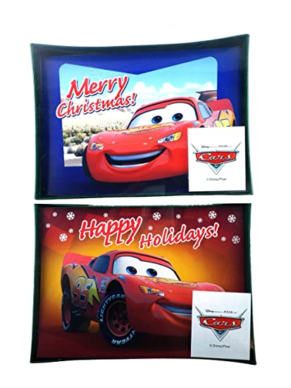 Amazon disney pixar cars holiday greeting cards 2 box set 20 disney pixar cars holiday greeting cards 2 box set 20 cards envelopes m4hsunfo