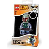 Lego Led - LG0KE19 - Star Wars - Porte-clés LED Boba Fett