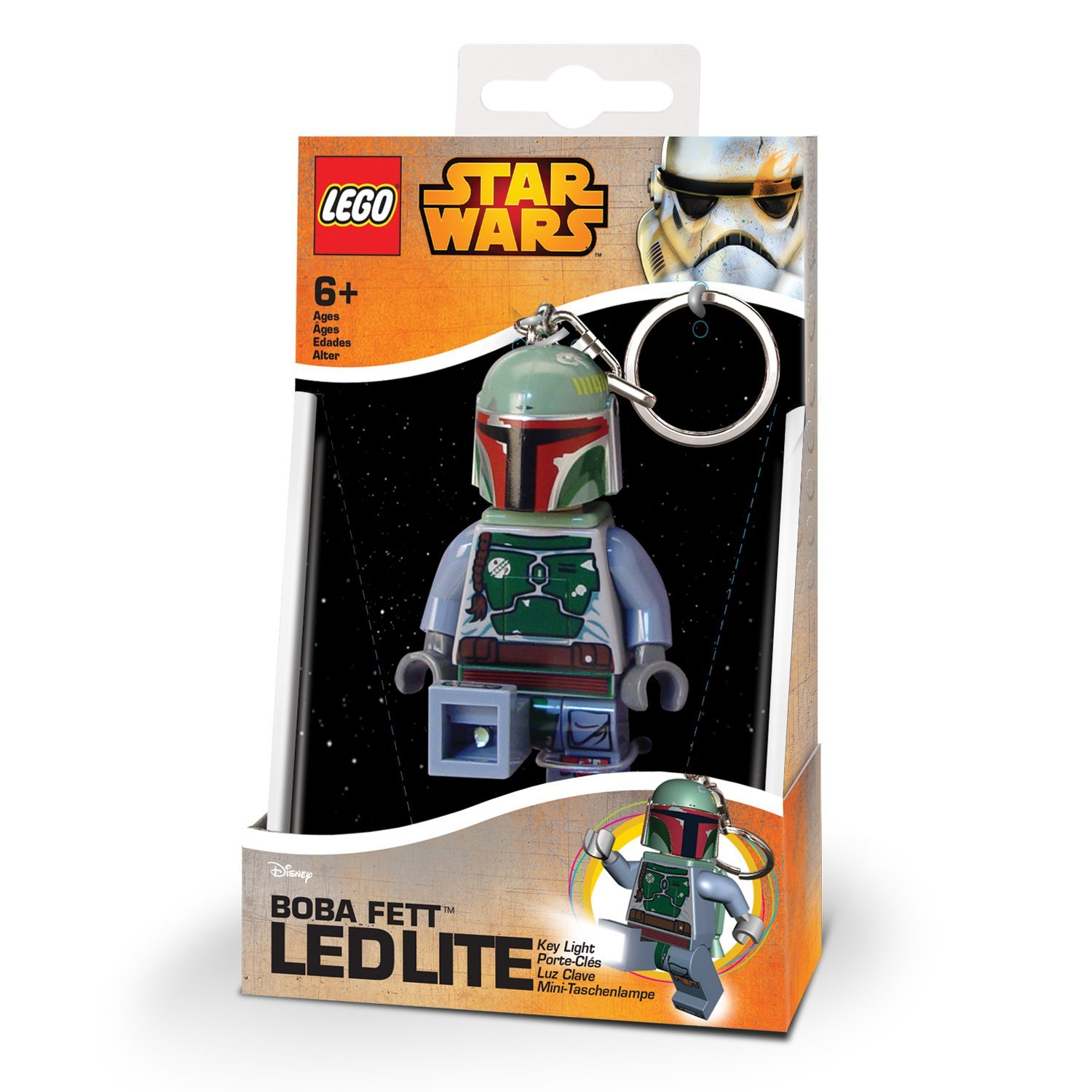 LEGO Star Wars Boba Fett Key Light