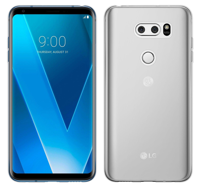 Funda LG V30, Yayago Carcasa TPU protección para LG V30 Ultra Fina (0,8 mm) silicona transparente