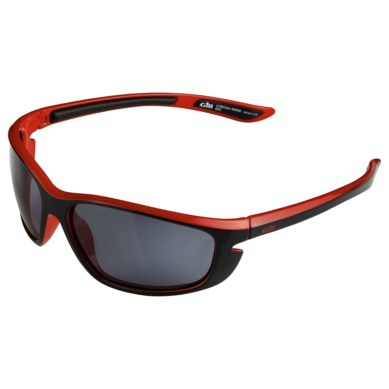 2016 Gill Corona Sunglasses Black/Red 9666 TEAguH