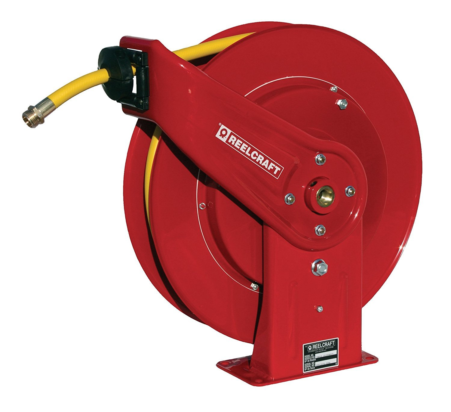 Reelcraft 7850 OLPSW57 1/2-Inch by 50-Feet Spring Driven Garden Hose Reel for Water by Reelcraft
