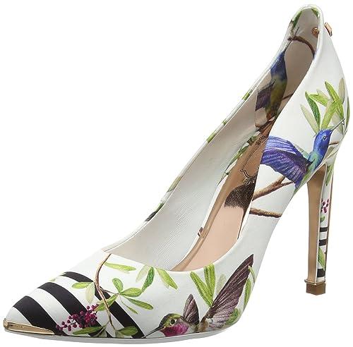 700806b75ec7 TED BAKER WOMENS HALLDEN CLOSED TOE HEELS  Amazon.co.uk  Shoes   Bags