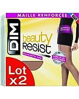 Dim Beauty Resist silhouette fine, Collants, Lot de 2, Femme