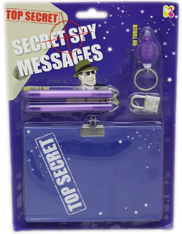 Top Secret Spy Message Set For Children Carousel Toys