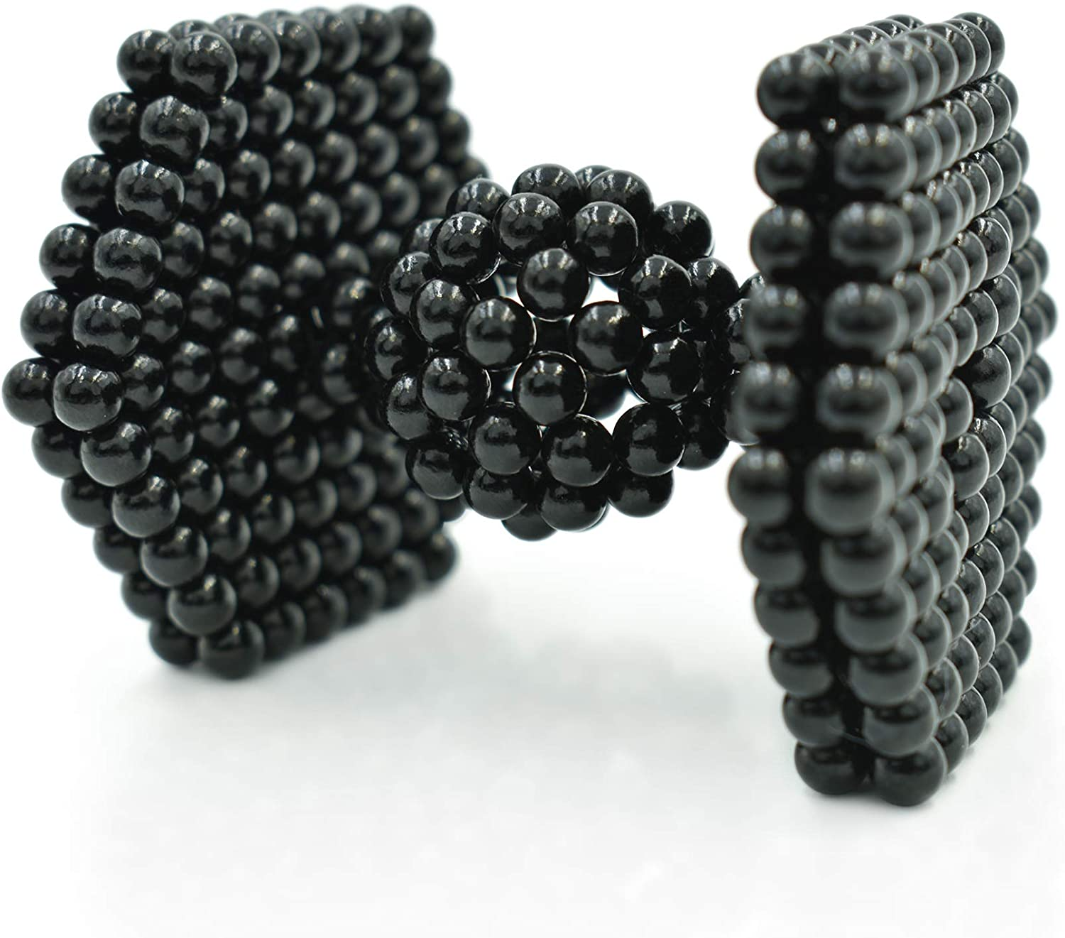 MagneDotz Magnetic Balls 5mm Fidget Gadget Toys Rare Earth Magnet Marbles Desk Toy Games Magnetic Beads Stress Relief Toys for Adults Black Edition