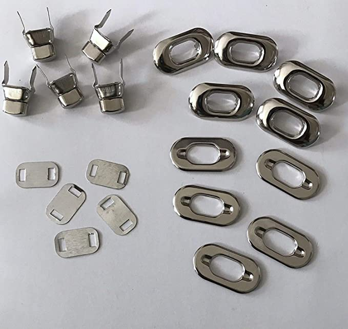 ESden Bird Shape Clasp Turn Lock Twist Locks Metal Hardware Replacement For DIY Handbag Bag Purse Making