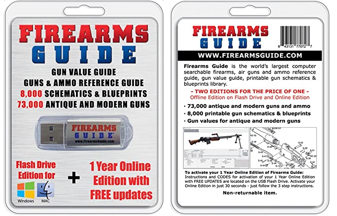 Amazon com : Firearms Guide 9th Edition - World's Largest