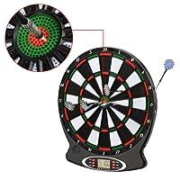 Busyall elektrisches Dartscheibe Dartspiel Dartboard,Mehrfarbig