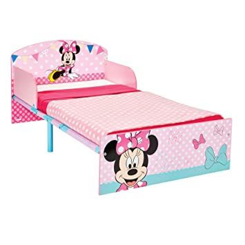 Disney Minnie Mouse Kids Toddler Bed By HelloHome