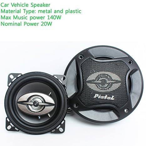 Amazon Com Eaglerich 2 Pieces 12v Max Music Power 140w 4 Inch