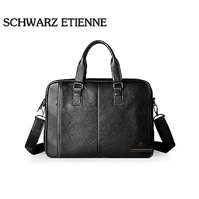free shipping Business Men Briefcase Bag Luxury Leather Laptop Bag Man Shoulder Bag bolsa maleta