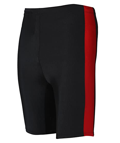 746f5408d4fa Rovars Men s Spandex and Polyester Swimwear (Red and Black, Medium). Roll  over image to zoom in