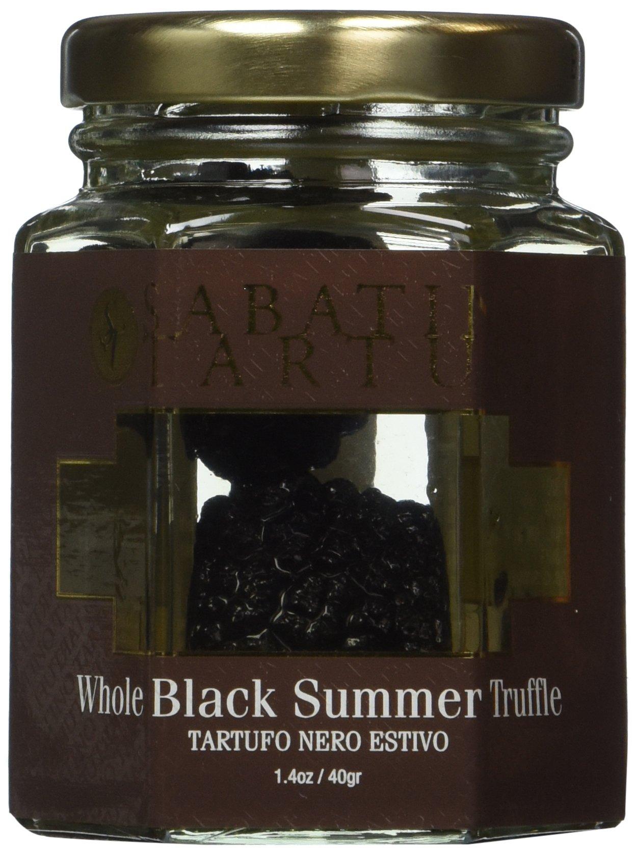 Sabatino Whole Black Summer Truffles (Jar) by Oregon Mushrooms