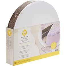 Wilton Cake Boards, Set of 12 Round Cake Boards for 10-Inch Cakes (2104-102)