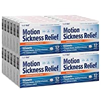 HealthA2Z Motion Sickness Relief, Dimenhydrinate 50mg, Compare to Dramamine Active...
