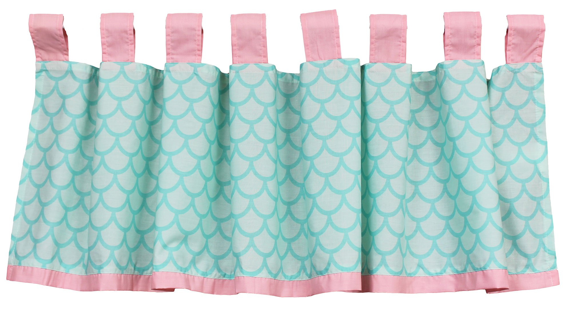 Sea Sweeties Pink and Blue Ocean 5 Piece Baby Girl Crib Bedding with Bumper by Belle by Belle (Image #8)