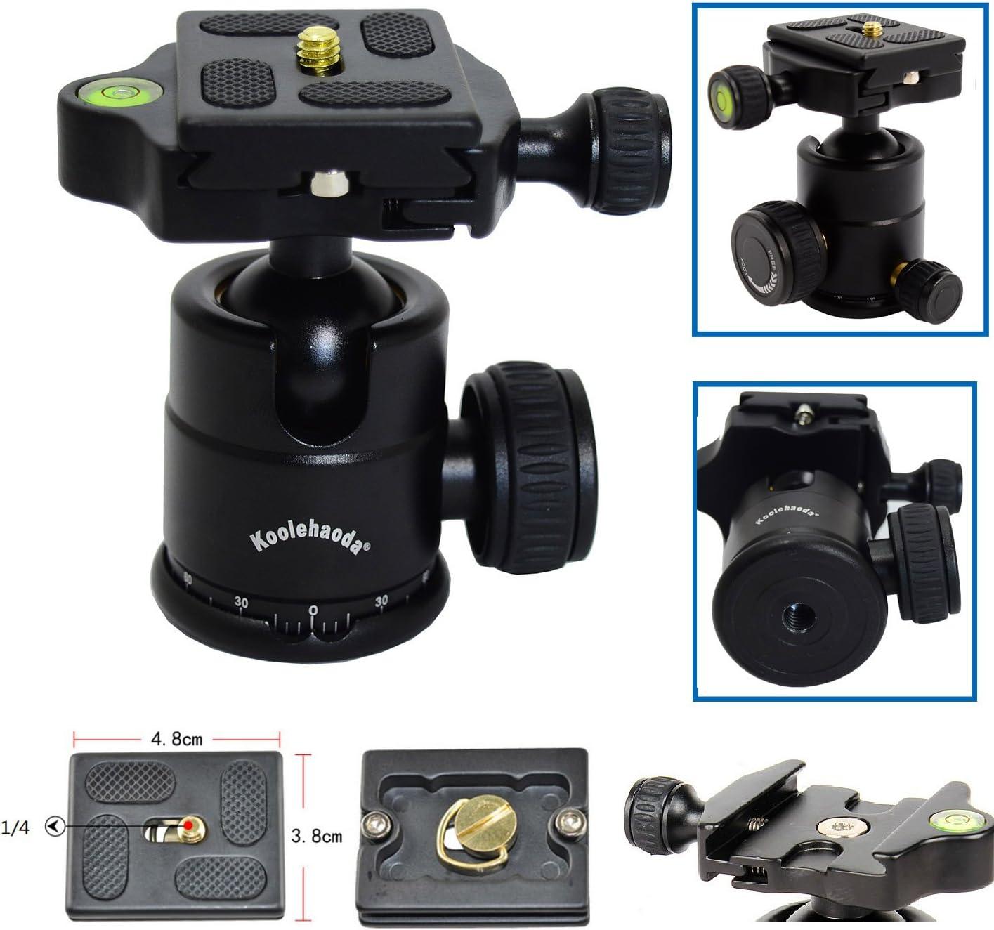 koolehaoda KQ-166 Travel Portable Mini Tripod With Ball Head For DSLR Camera KQ-166 Mini triod