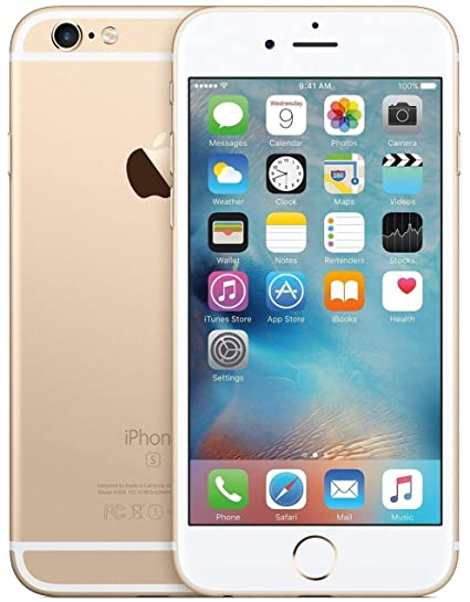 Amazon com: Apple iPhone 6s, Boost Mobile, 32GB - Gold