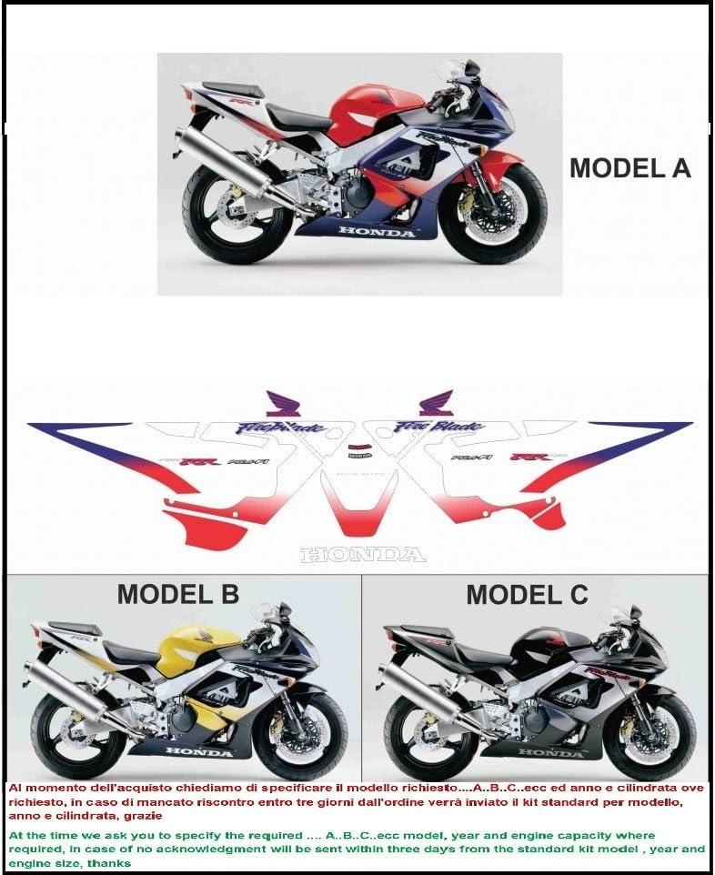 Kit adesivi decal stickers HONDA CBR 929 RR FIREBLADE 2000 (ability to customize the colors): Amazon.es: Coche y moto