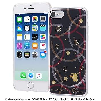 1e18e3de1b Amazon | iPhone 8 / iPhone 7 ポケットモンスター/TPUケース+背面パネル ...