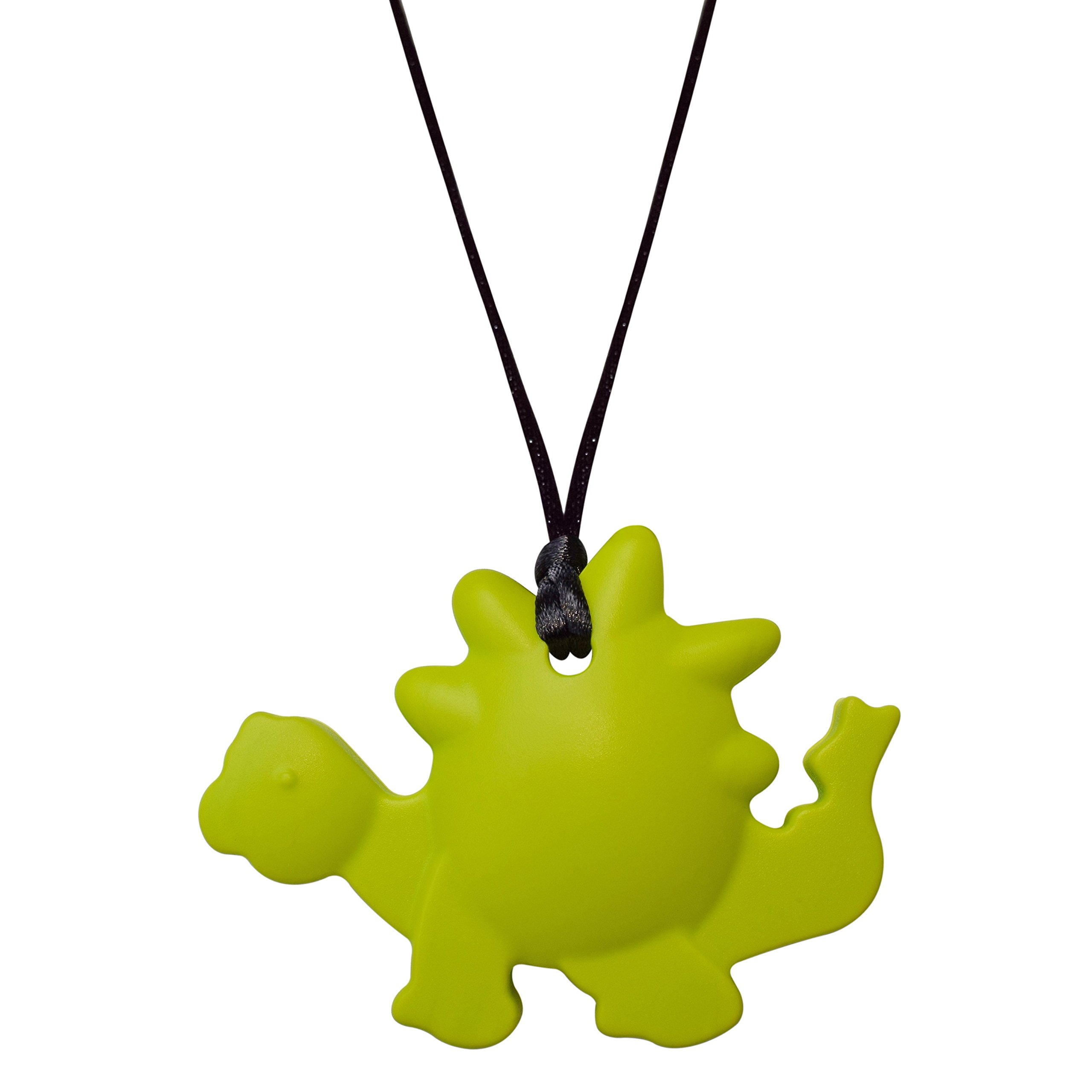 Dinosaur Sensory Oral Motor Aide Chewelry - Boys Chewy Necklace (Green)