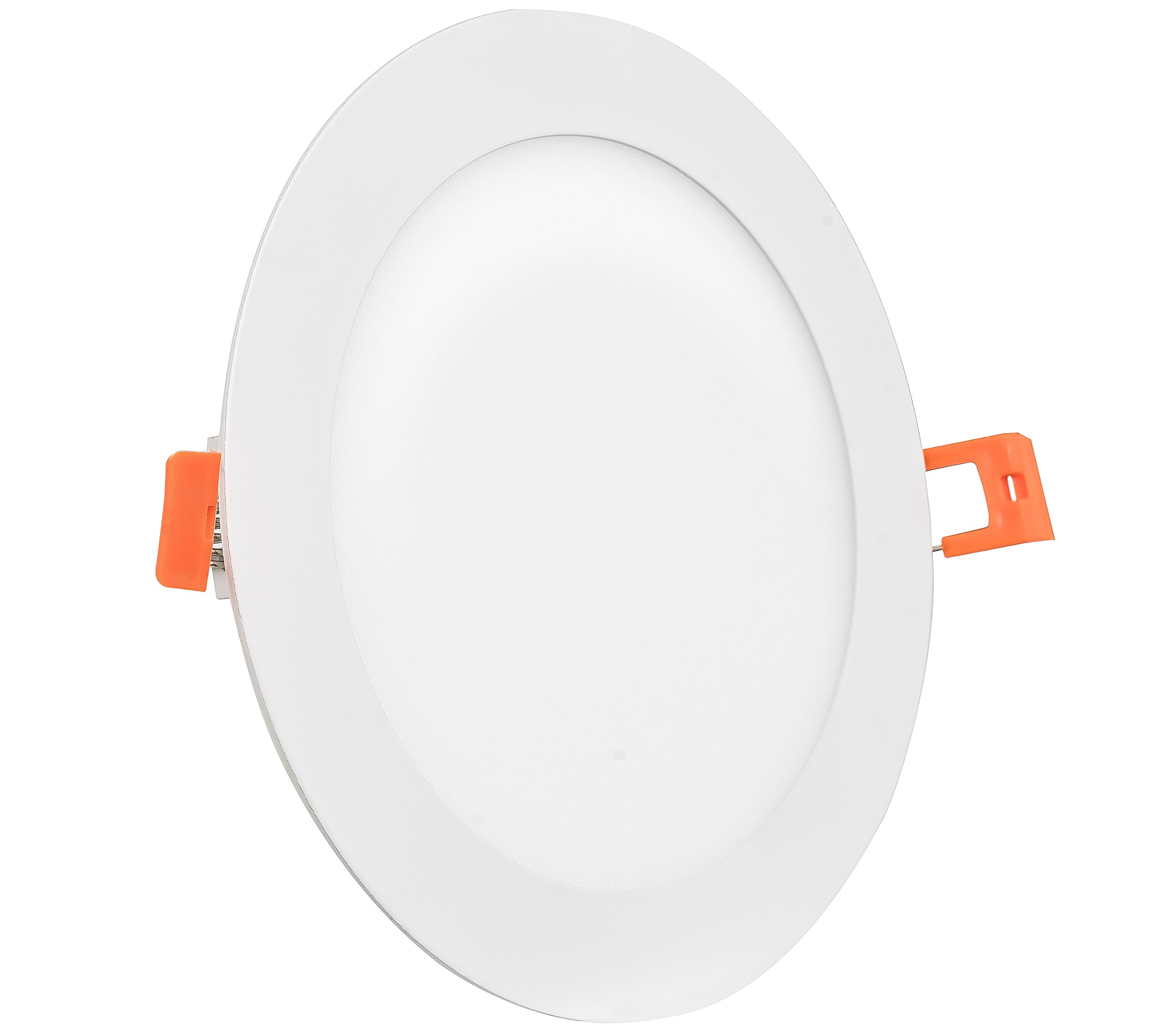 Westgate Lighting 15W 6 Inch Ultra Thin Slim LED Recessed Light - Dimmable Retrofit Downlight Smooth Trim - Junction Box Included - No Housing Required - Ceiling Lights (1 Pack 2700K Warm White)