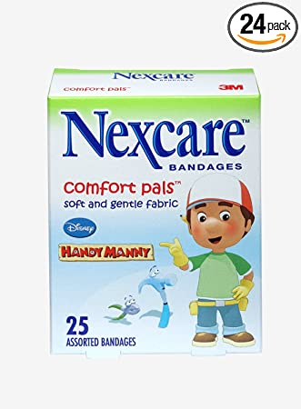Amazon Com Nexcare Tattoo Waterproof Handy Manny Bandages One Size