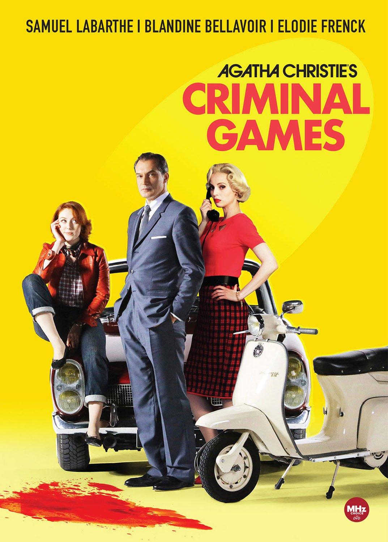 DVD : Agatha Christie's Criminal Games (3 Disc)