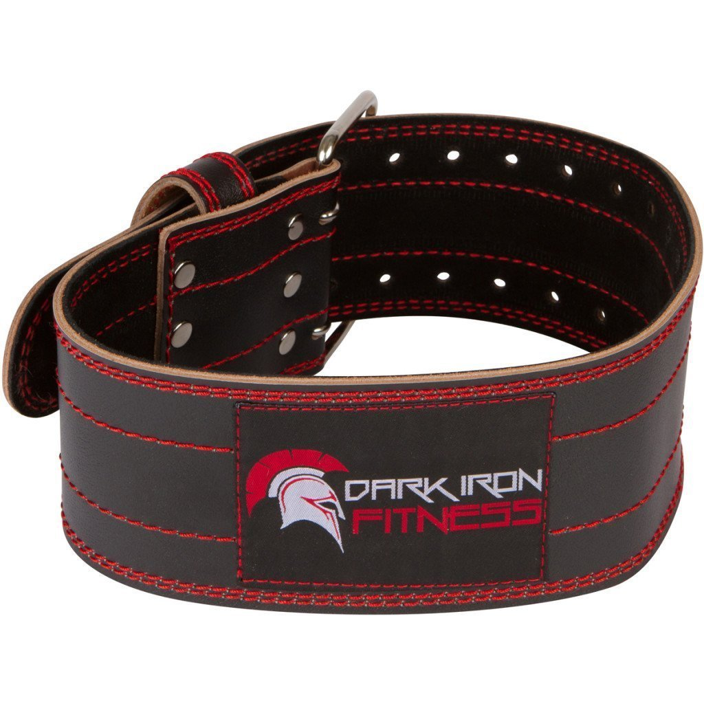 Small Lifting Leather Squatt Belt Weight Lifiting Belts for Back Fitness Belt Workot Belt Wheigt Belt Weight Lifting Belts Weighlifting Back Belt Fitness Belts Mens Weight Lifting Belt Lifting by Dark Iron Fitness (Image #1)