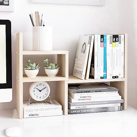 Amazon.com : Jerry & Maggie Desktop Organizer Office Storage Rack ...