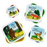 Gruffalo Set of 4 Feasting Snack boxes by Wild & Wolf