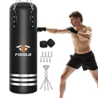 Deals on Figolo 42-inch Filled Heavy Bag