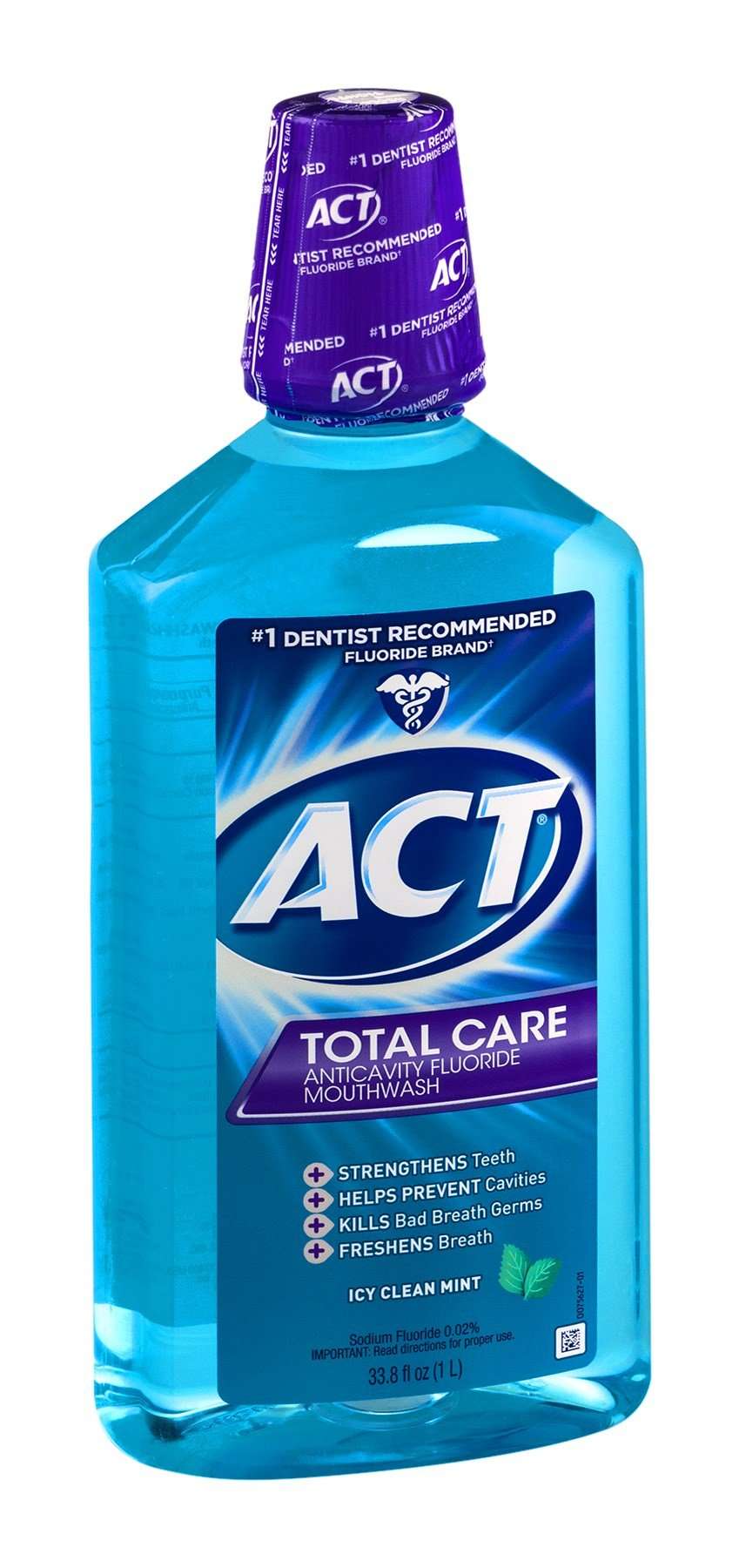 Act Total Care Anticavity Fluoride Mouthwash Icy Clean Mint