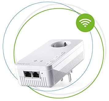 devolo Magic 2 WiFi: Extensión PLC (2400 Mbps, LAN y WiFi ac): Devolo: Amazon.es: Informática