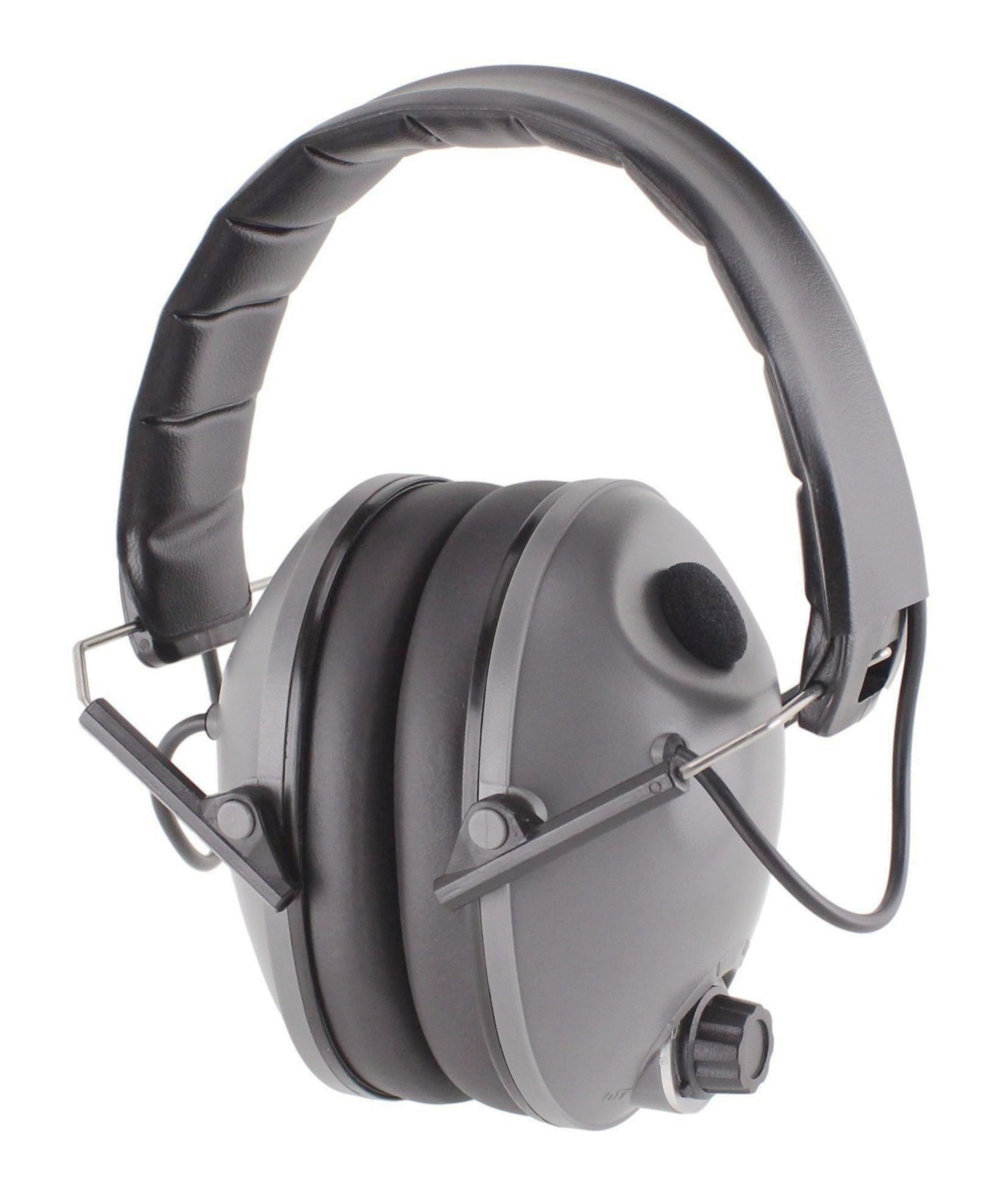 Titus E-Series - Low-Profile - Electronic Noise Cancelling Safety Earmuffs - Hearing Protection (Standard)