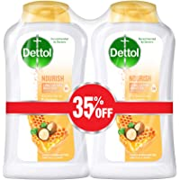 Dettol Nourish Anti-Bacterial Body Wash 250ml Twin Pack At 35% Off