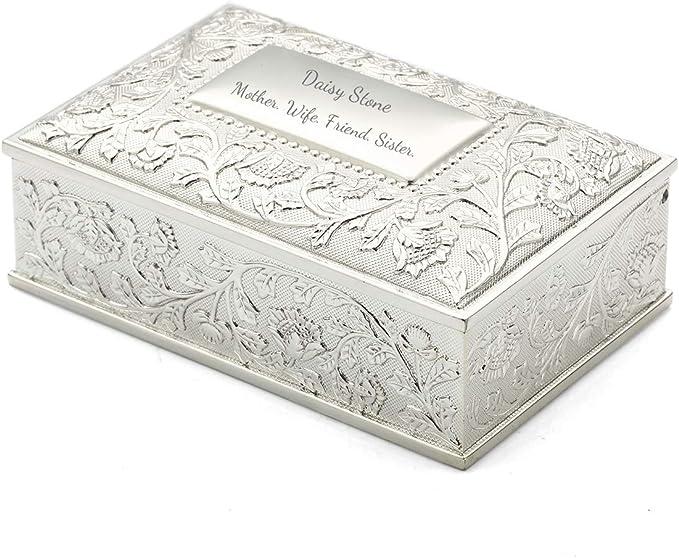 Jewelry Box  Girls Paisley Medley Personalized