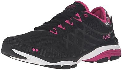RYKA Women's Vida Rzx 2 Cross-Trainer Shoe, Black/Grey, ...