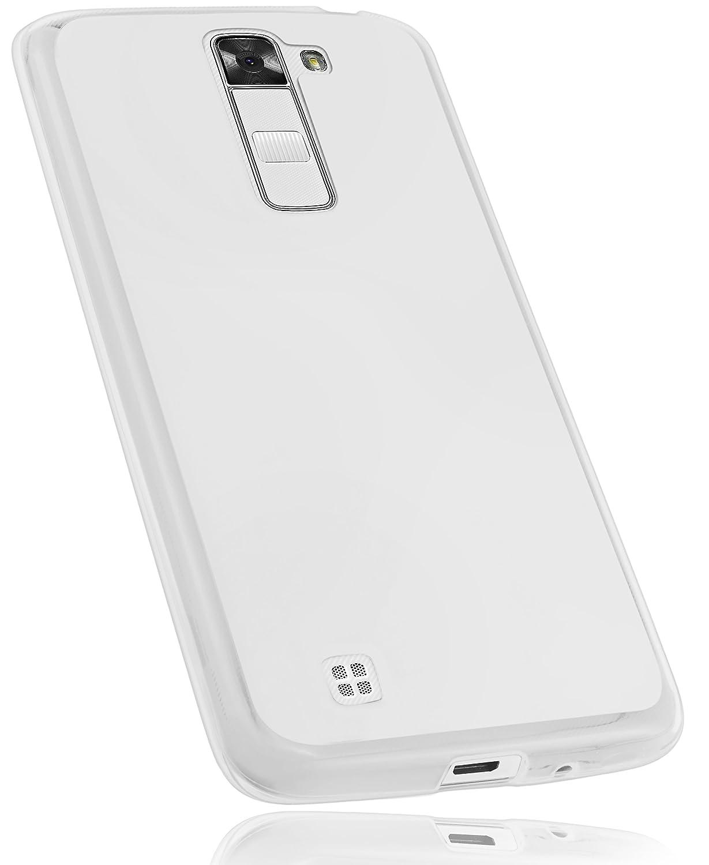 Mumbi Funda Compatible con LG K7 Caja del teléfono móvil, Blanco Transparente: Amazon.es: Electrónica