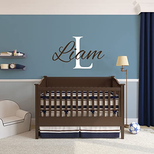 Name Wall Decals Boys Room Baby Wall Decals Personalized - Baby name wall decals
