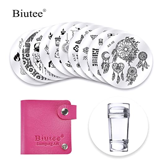 For Perfect Nail Stamping And Getting The Best Desired Results You Need To Have Stamps With Pattern Applied Carefully On Nails
