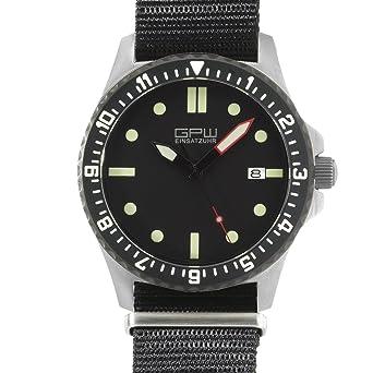 amazon com german military titanium automatic watch gpw date 200m