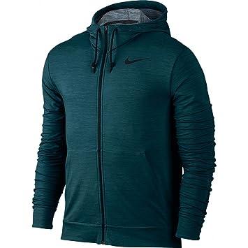 4e0172afcbcb45 Nike - DRI-FIT Training Fleece FZ HDY - Sweat-Shirt - Turquoise - M ...