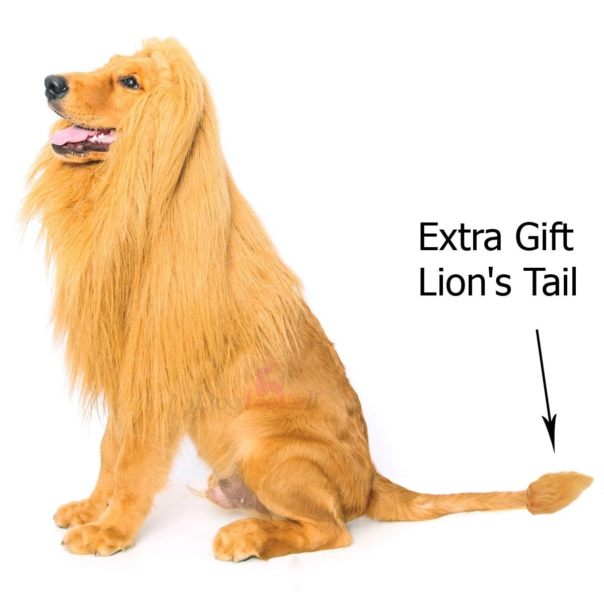 amazon com lion mane for dog dogloveit dog costume with gift