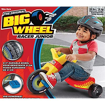 The Original Big Wheel Junior Racer Trike: Toys & Games