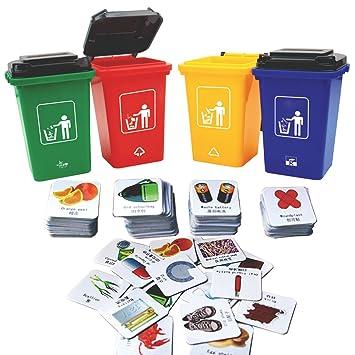 Deao Aprende A Reciclar En Ingles Juego De Mesa Educativo Infantil