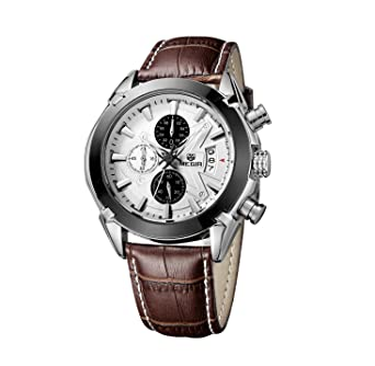 tissot strap everytime watch product s fpx video shop men leather swissmatic dark watches automatic swiss brown mens