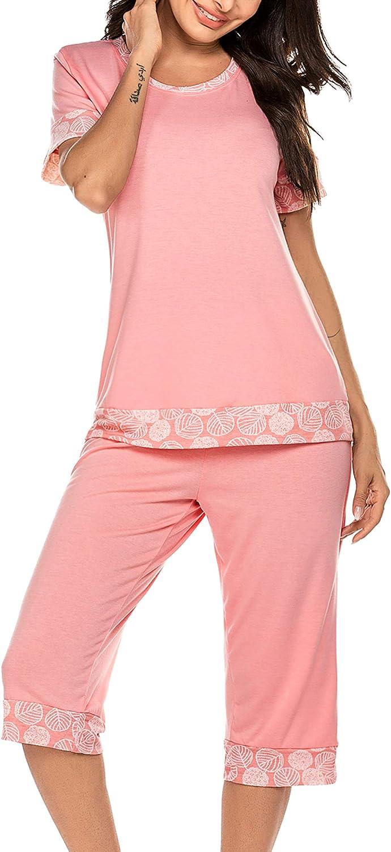 UNibelle Pijama Corto de Dos Piezas para Mujer