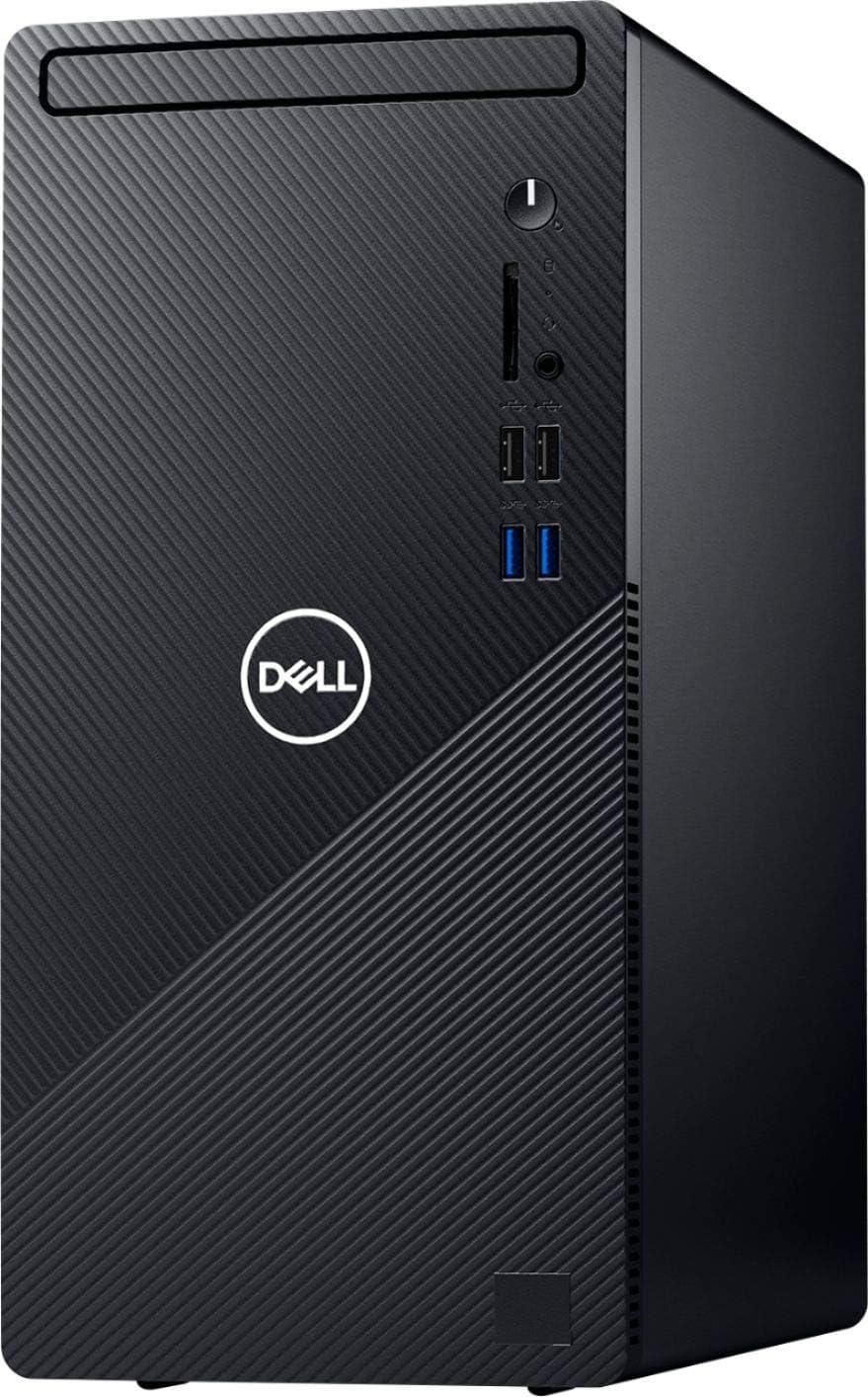 Dell Inspiron 2021 Premium Desktop Computer, 6 Core Intel Core i5-10400 2.90 GHz, 8GB RAM, 256GB SSD+1TB HDD, Wired Mouse & Keyboard,Bluetooth,Wi-Fi,VGA, RJ-45, HDMI,No DVD,Windows 10